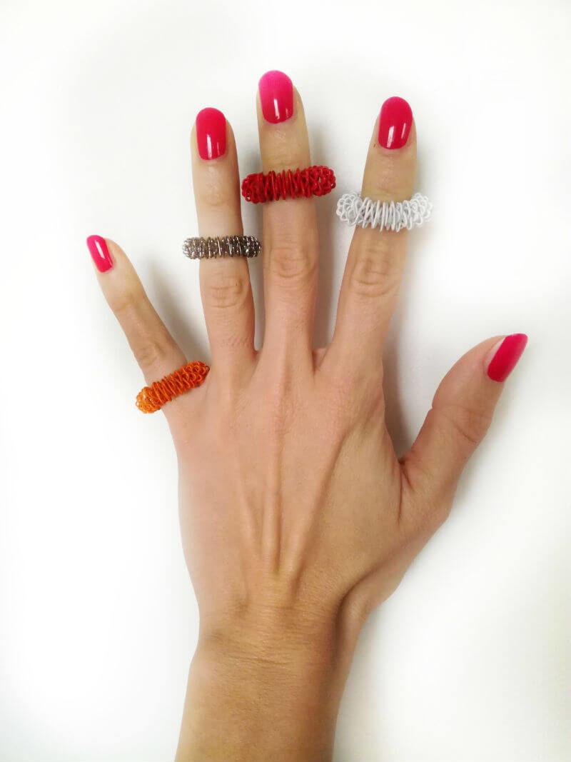 masažni prstan